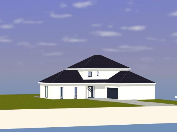 votre avis sur notre plan de maison 146m2 avec tage. Black Bedroom Furniture Sets. Home Design Ideas