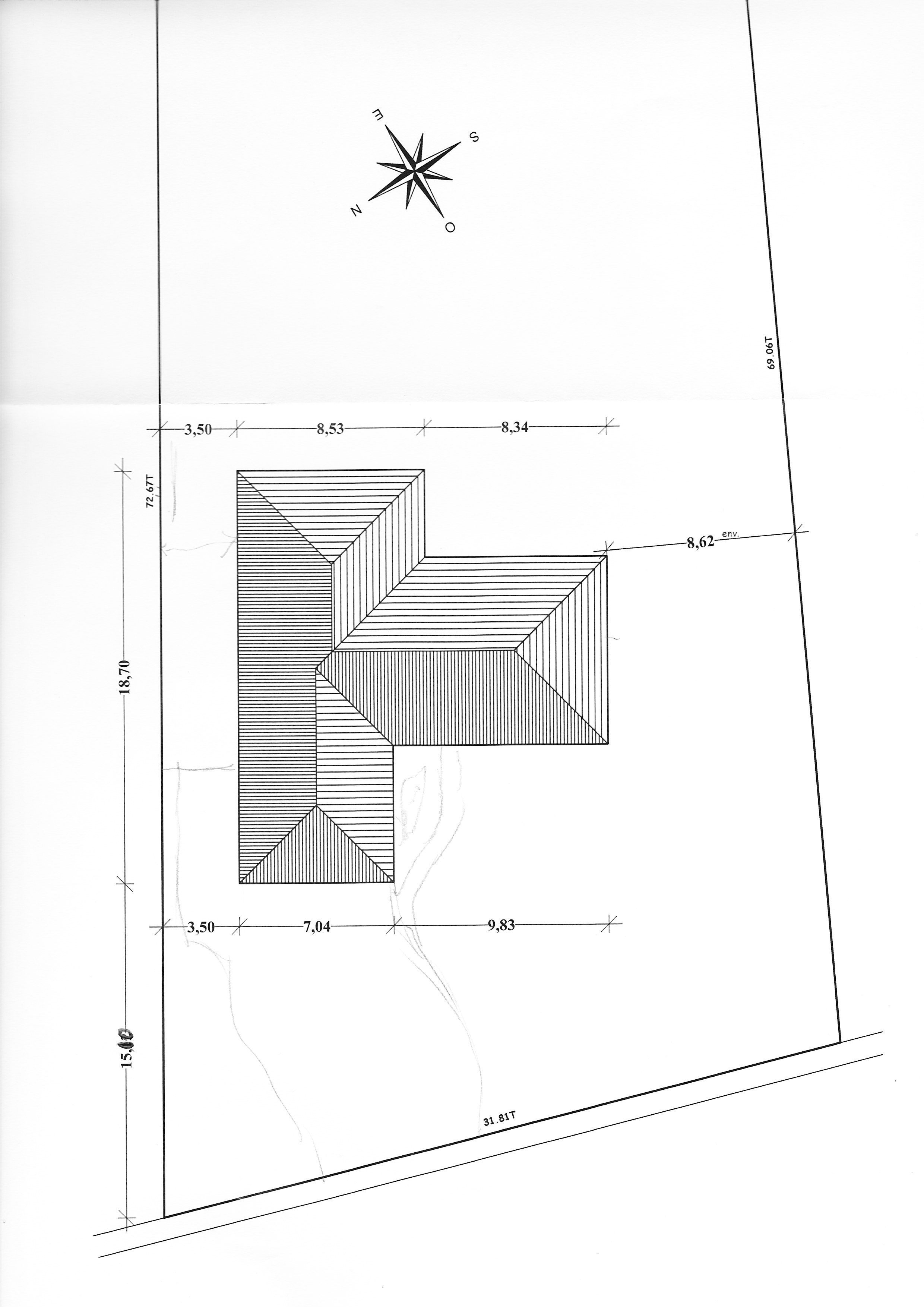Avis plan maison 150m² en T de plein-pied - 23 messages
