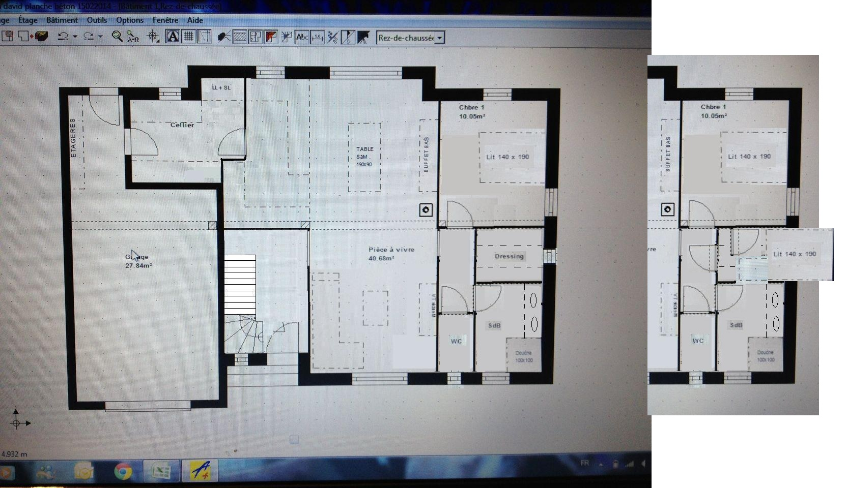 Avis plan maison de 80m2 21 messages for Plan maison 80m2 plein pied