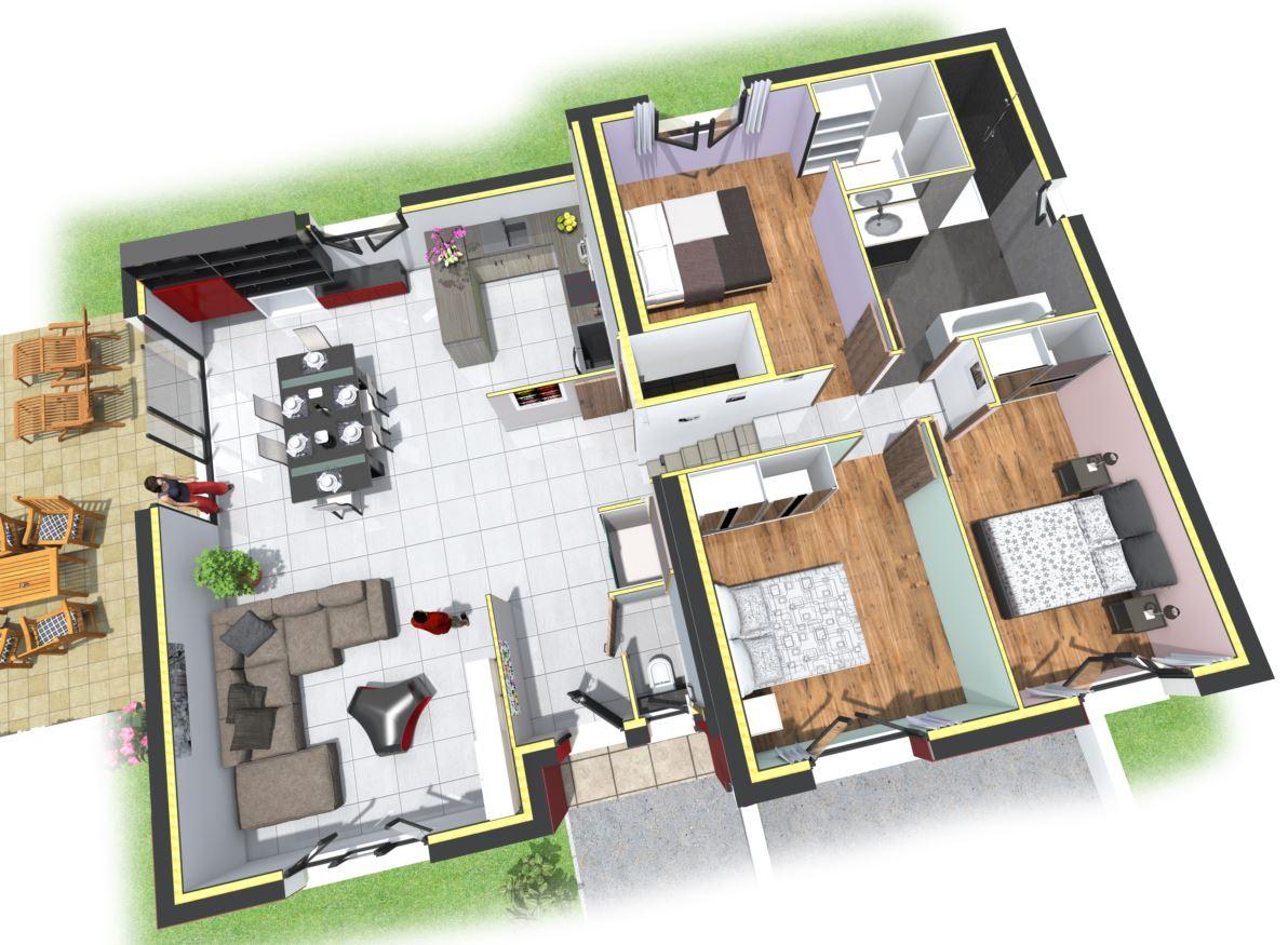 Agreable Plans Maisons