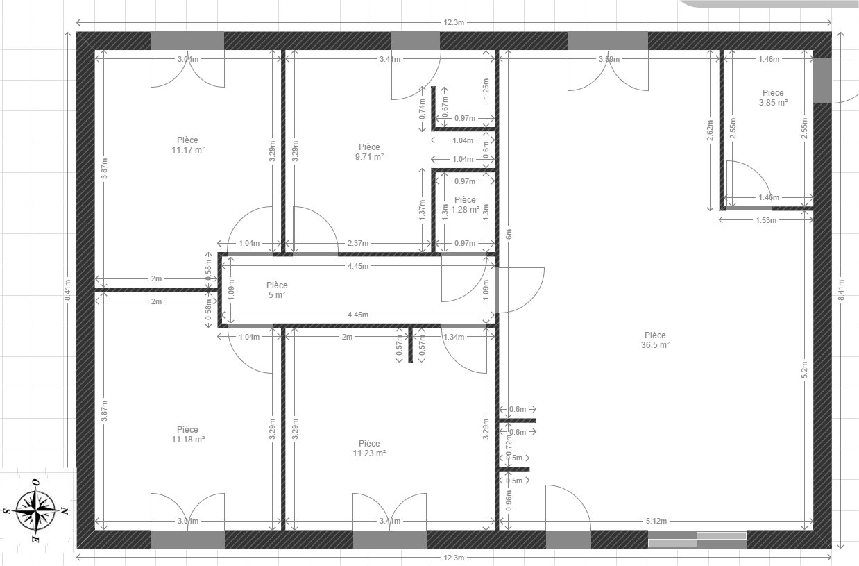 Vos avis sur plan de maison de 90m 26 messages for Plan de maison facile