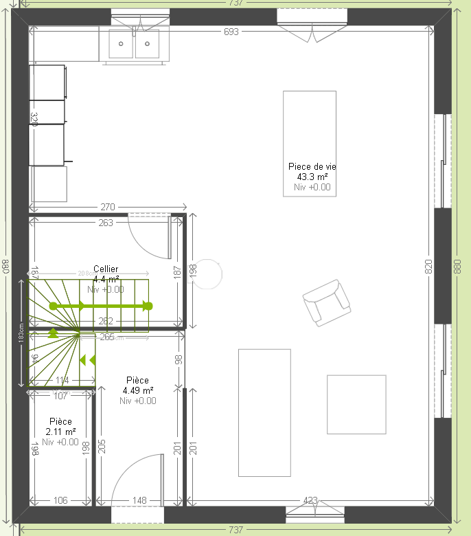 Populaire Avis plan maison ~90m2 [Résolu] - 357 messages AA57