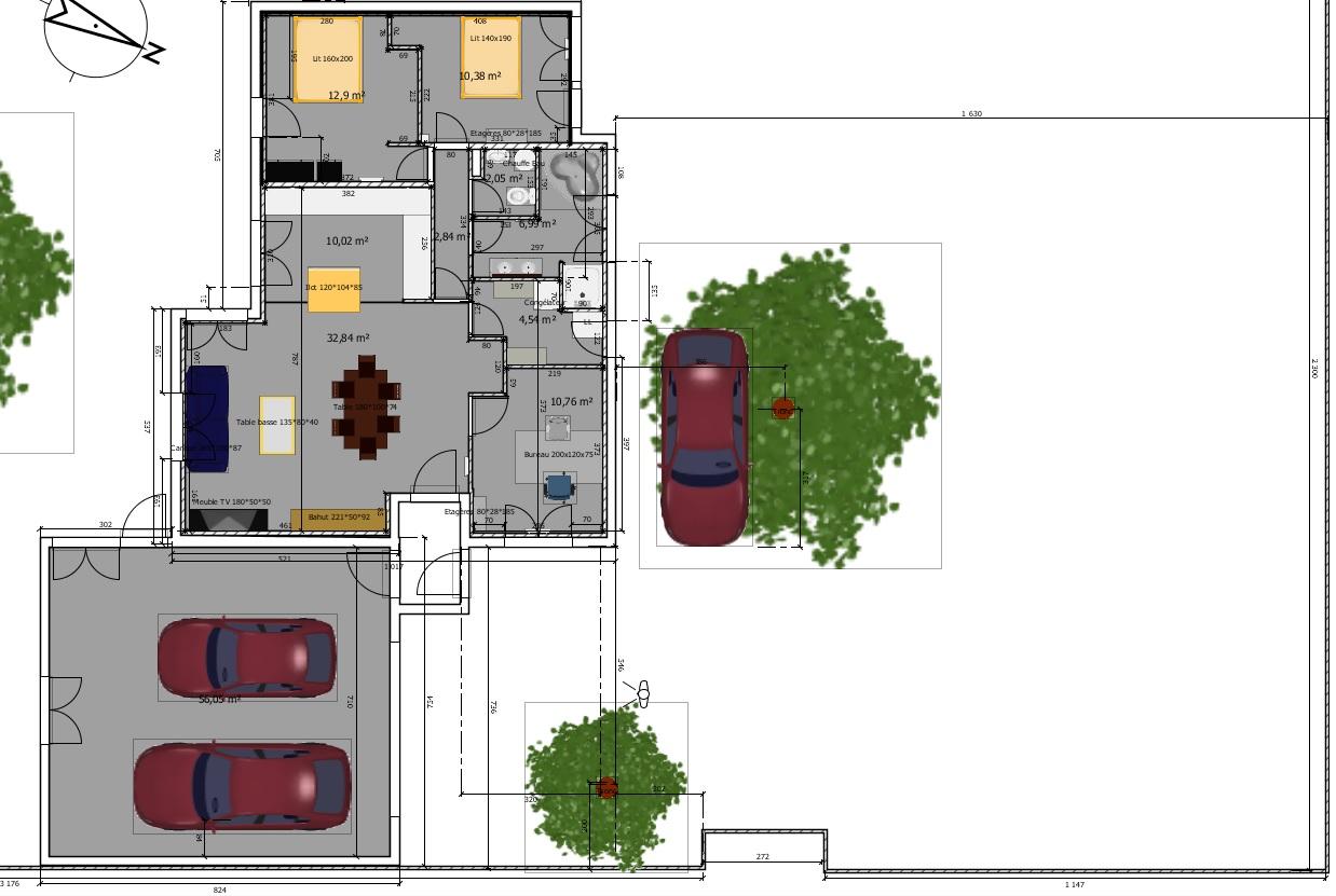 Avis plan de maison 95m questions 34 messages page 3 for Ajouter garage contre maison