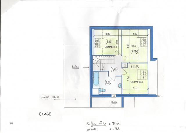 Maison bbc plan plan maison toit plat recherche google for Maison bbc plan