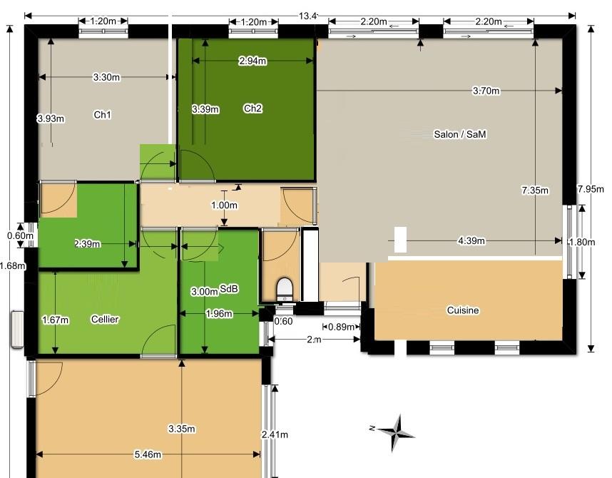 Avis plan maison plein pied 90m2 - 77 messages - Page 2