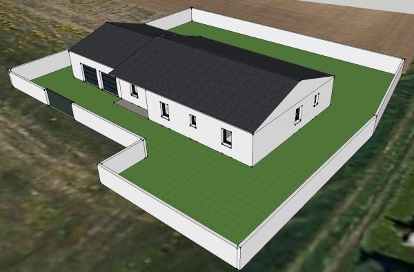 Simple des vues d with construire maison 3d for Creer sa maison 3d gratuit