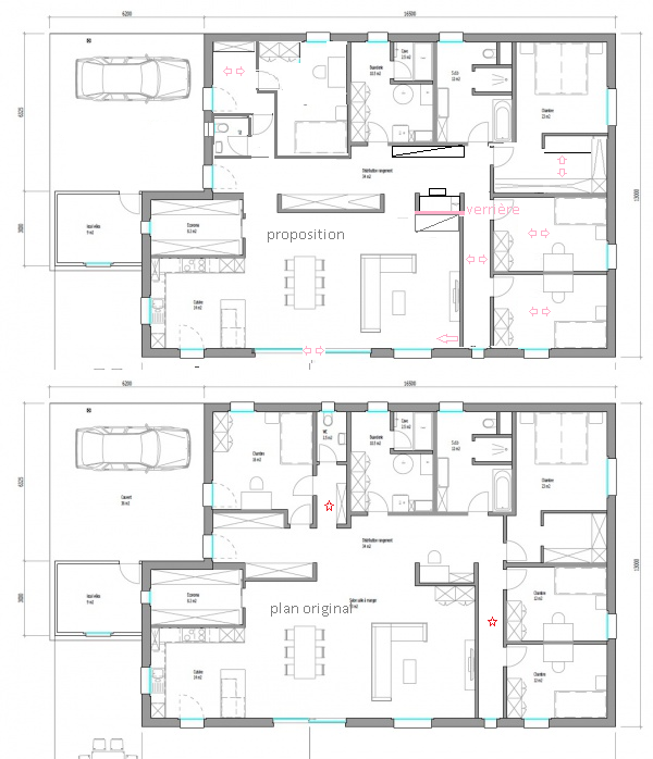 Plan Maison 170 M 2 Plain Pied