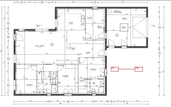 Plan maison 80 m2 plain pied plan maison plain pied en l for Plan maison 80 m2 plain pied