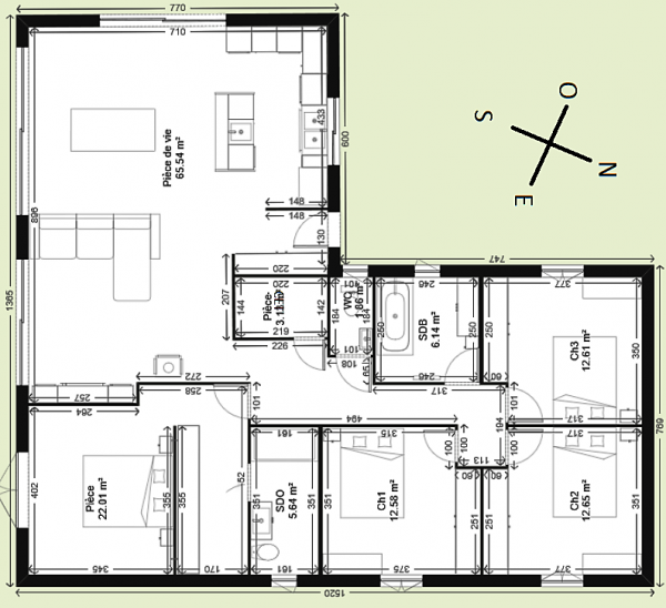 Avis Plan Maison Plain Pieds 140m2 79 Messages