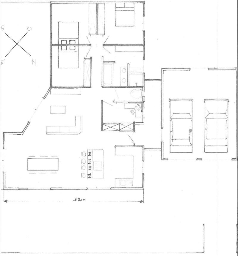 ide de plan maison simulation de plan maison avec et d appartement gratuit logiciel archifacile. Black Bedroom Furniture Sets. Home Design Ideas