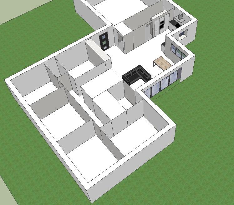 Votre avis plan maison pp 120m2 surface habitable 169 for Plan maison 130m2