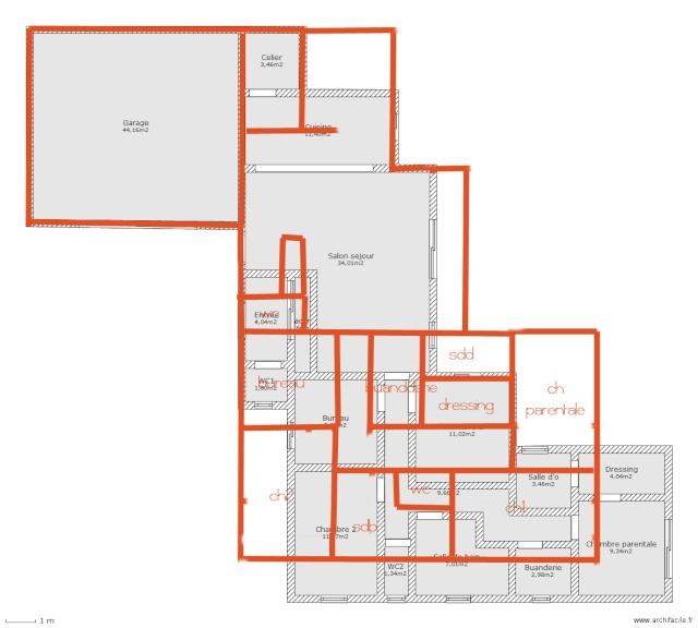 Plan De Maison Facile Trendy Le Plan Duune Maison With Plan De
