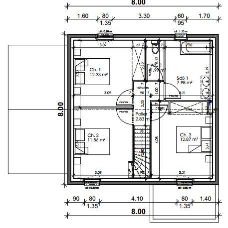 Avis plan maison rt2012 110m2 avec r 1 28 messages for Creer un plan de maison