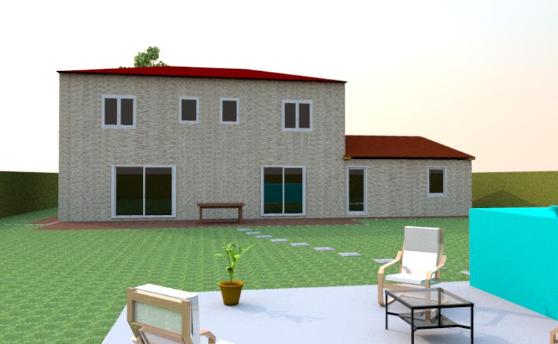 Vos avis sur mon plan de maison avec vues 3d 31 for Sweet home 3d modele maison