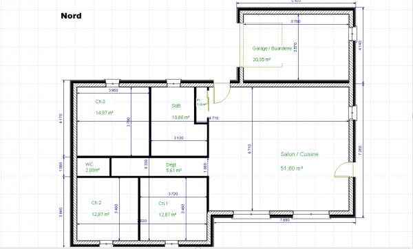 avis plan plain pied 112 m 9 messages. Black Bedroom Furniture Sets. Home Design Ideas