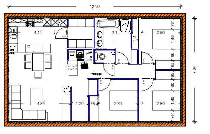 Vos avis sur notre plan pp 88m 99 messages page 3 for Plan architecte chambre hotel