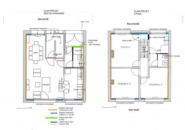 Enfin notre maison 53 messages - Plan renovation maison ...