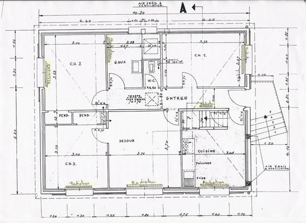 avis plan r novation maison 70 m habitable garage 48. Black Bedroom Furniture Sets. Home Design Ideas