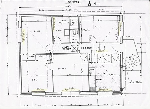 Avis plan r novation maison 70 m habitable garage 48 - Plan renovation maison ...