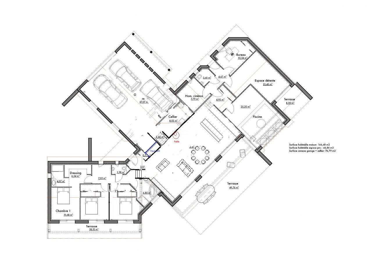 Avis sur plans de 2 maisons 42 messages page 2 for Je veux concevoir mon propre plan de maison