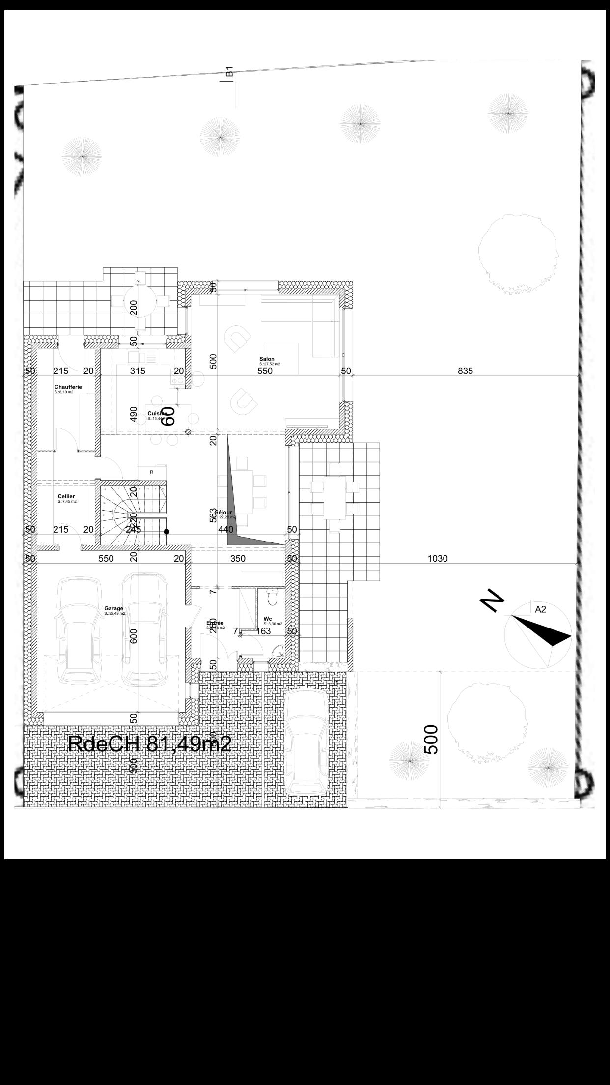 Plan Maison 200m2 Plein Pied Plan Maison 4 Hambres Plain