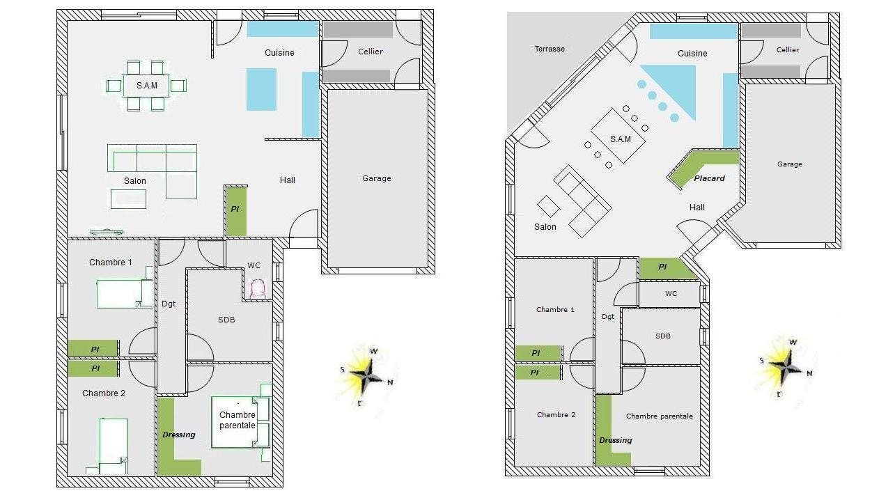 avis plans maison 100m 19 messages. Black Bedroom Furniture Sets. Home Design Ideas