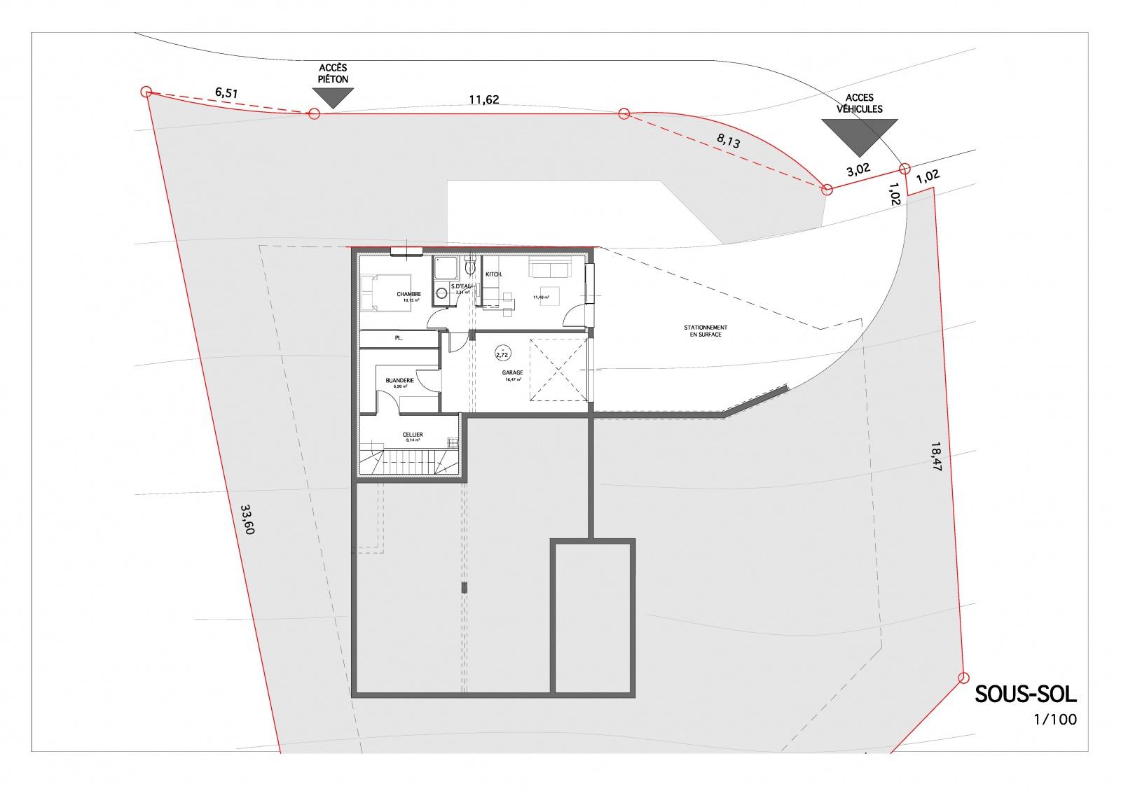 Avis sur plans maison 126m2 avec sous sol 27 messages for Plan de maison avec sous sol