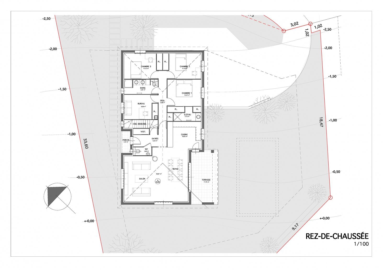 Avis sur plans maison 126m2 avec sous sol 27 messages for Plan sous sol