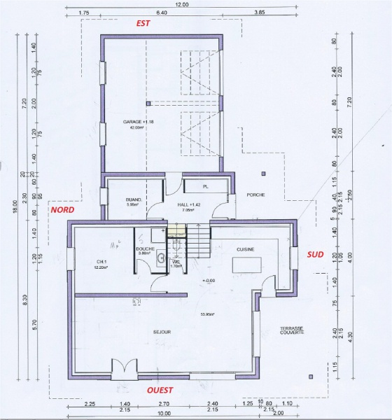 Avis sur plans pour maison de 174m2 habitable 17 messages for Plan maison sud