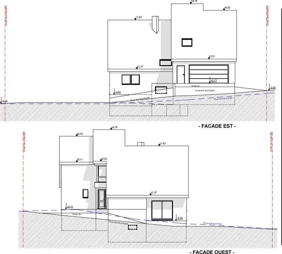 Plan architecte maison moderne simple plan architecte for Architecte maison moderne