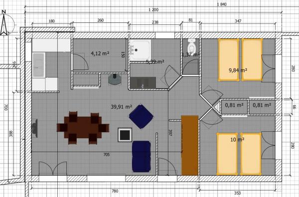 avis plans plein pied combles am nageables. Black Bedroom Furniture Sets. Home Design Ideas