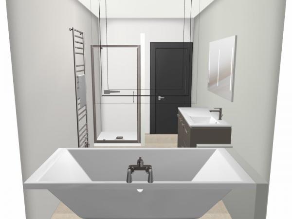Avis salle de bain 7 5m 14 messages for Salle de bain 7 5 m2