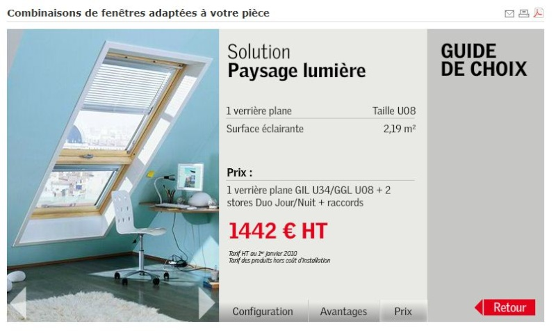 avis sur verri re d 39 angle velux 15 messages. Black Bedroom Furniture Sets. Home Design Ideas