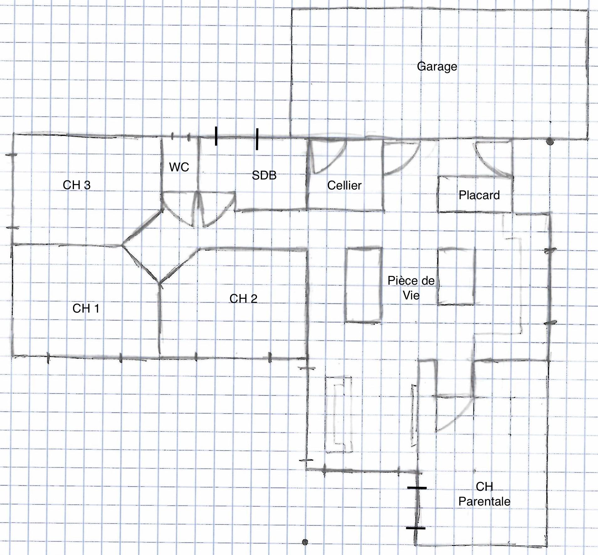 Creer un plan de maison plan de maison x with creer un for Tracer un plan de maison