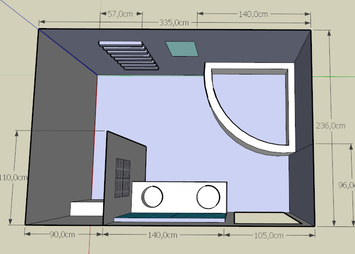 Besoin d 39 aide pour implantation salle de bain 17 messages for Salle de bain douche et baignoire d angle