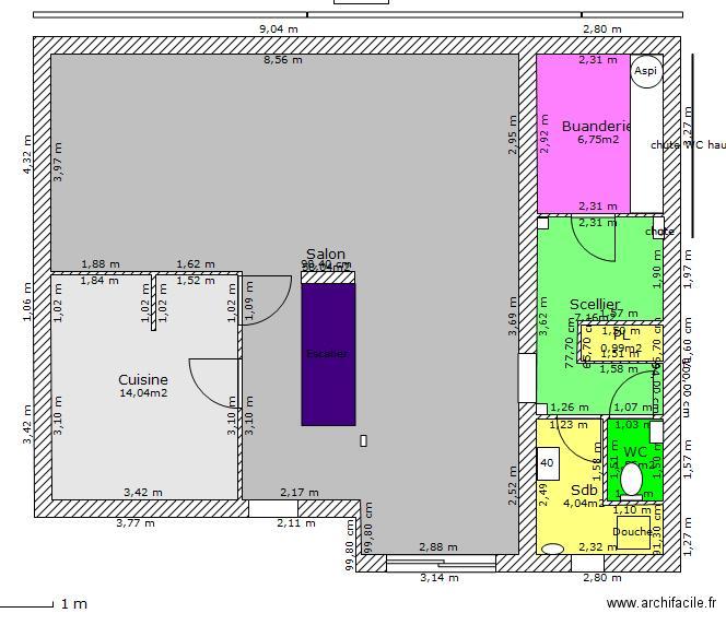 besoin d 39 aide pour plan extension maison 72 messages. Black Bedroom Furniture Sets. Home Design Ideas