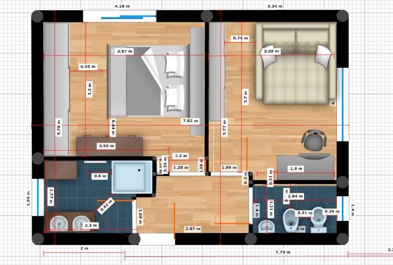 Besoin d 39 aide pour plan d 39 une extension 20 messages for Extension maison pour chambre