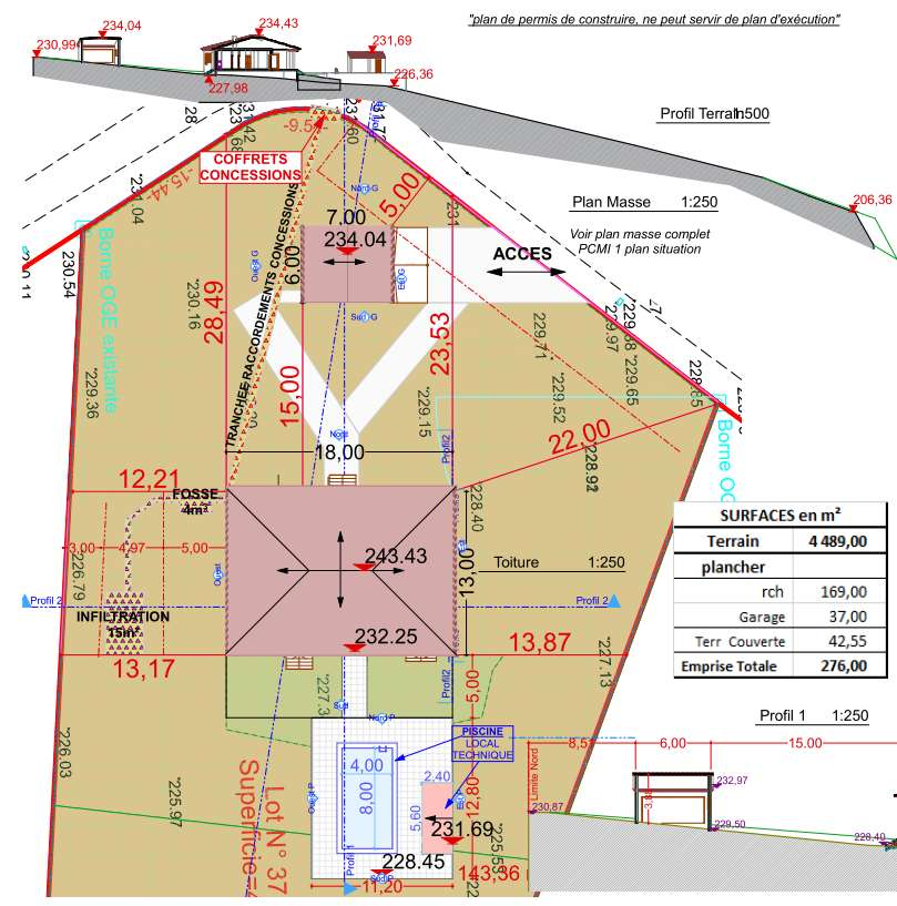 Besoin d 39 aide terrassement et fondations 12 messages for Etude de sol prix