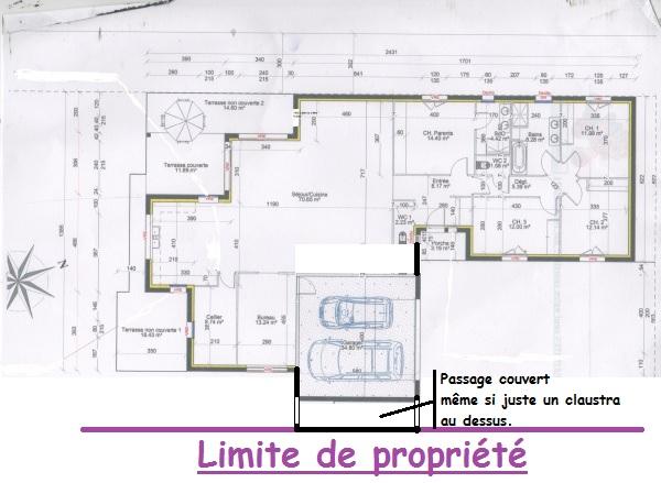 plan maison en l 170m2