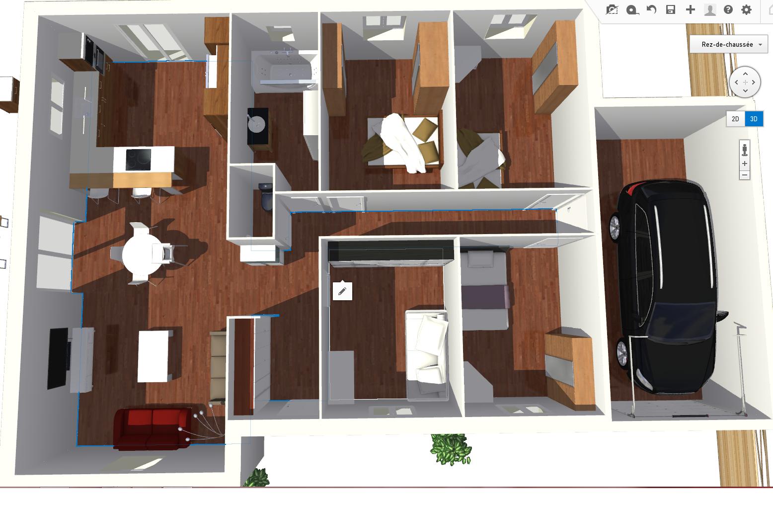 plan de maison hlm