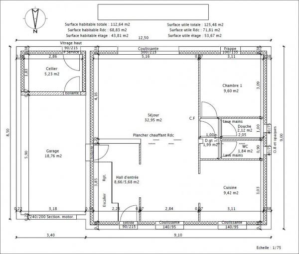 Besoin D'Avis Sur Plan De Maison De 110-120 M² - 25 Messages