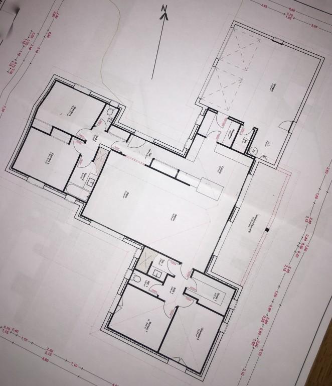 Audacieux Besoin d'avis sur plan de maison 140 m2 plain pied - 17 messages HW-63