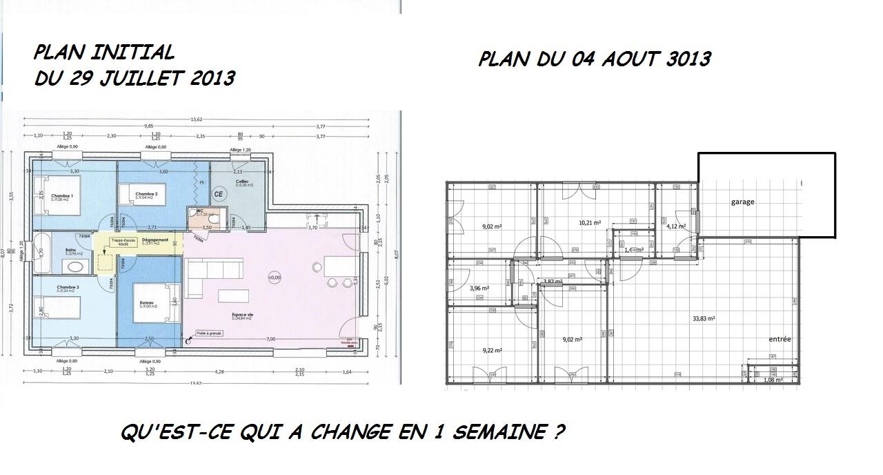 Besoin d\'avis sur plan de maison 85m² avec 4 chambres ! - 53 ...