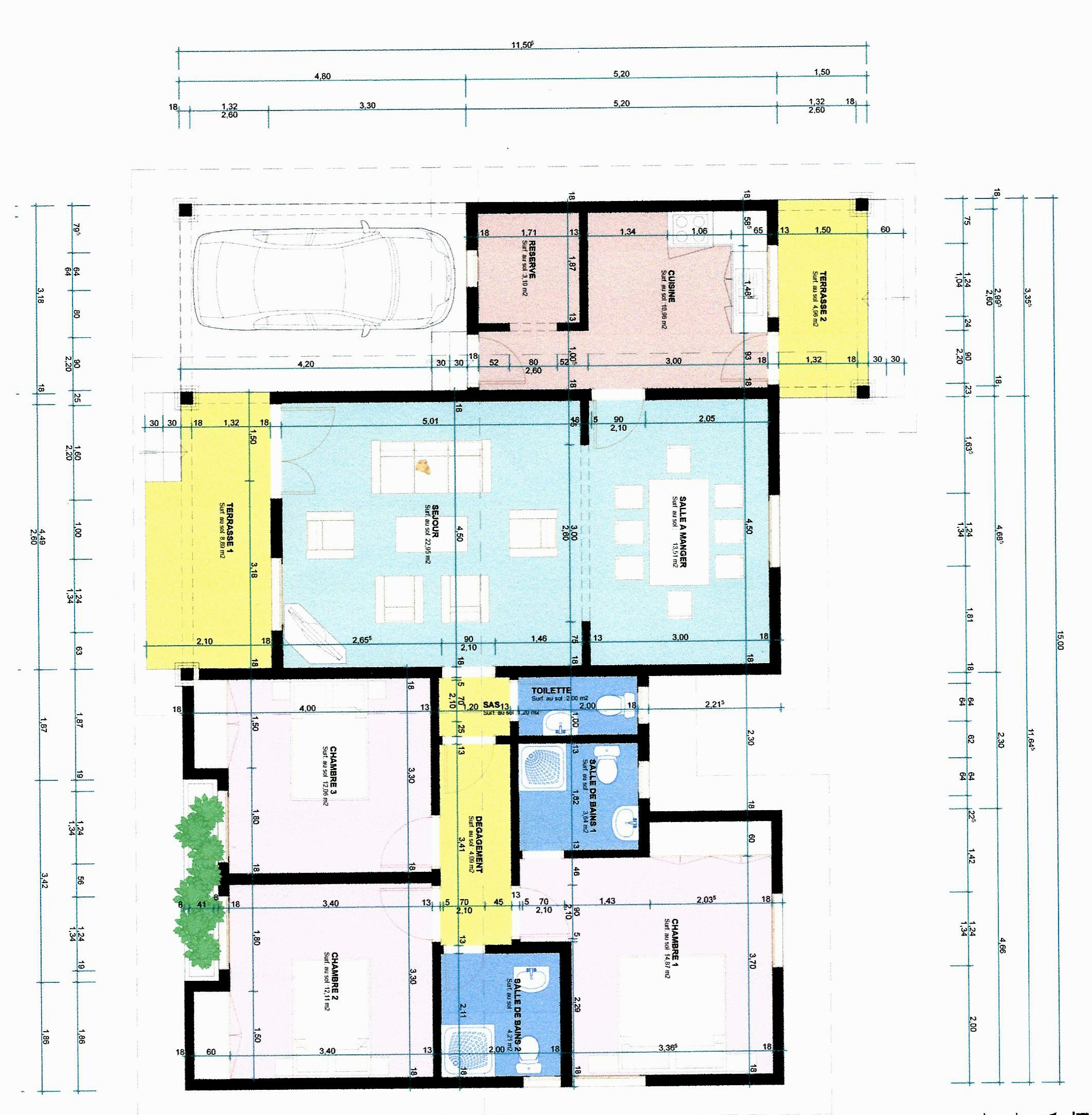 Besoin D Avis Pour Plan De Maison Plain Pieds De 134 67 M2 47 Messages