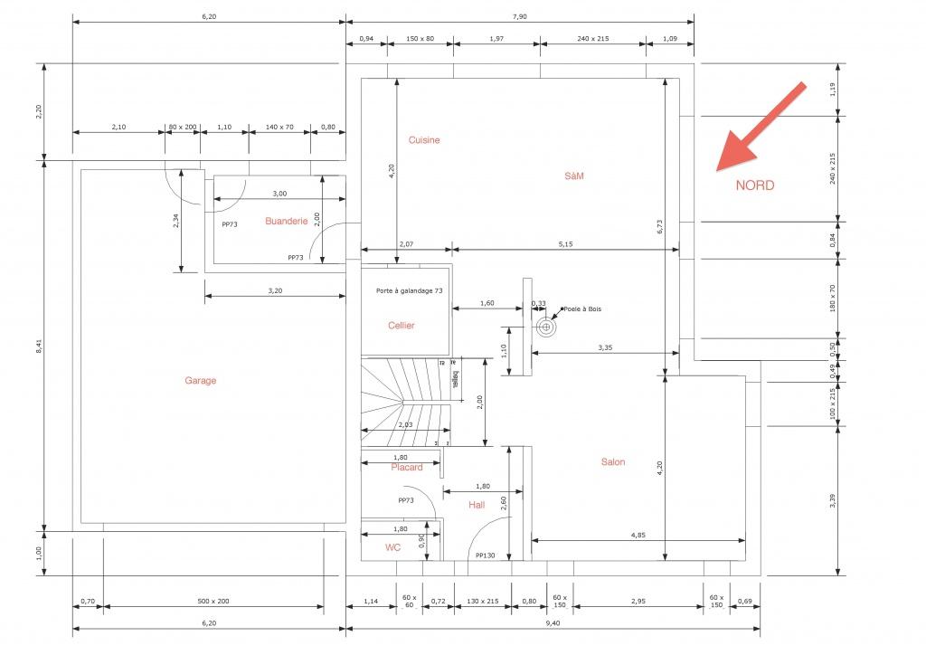 Besoin de votre avis sur plans de maison r 1 175m2 16 for Plan maison suite parentale rdc