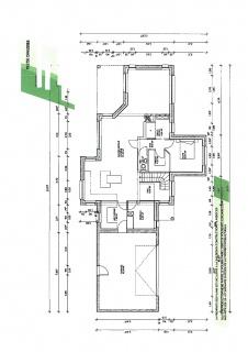 plan de maison 4 pentes