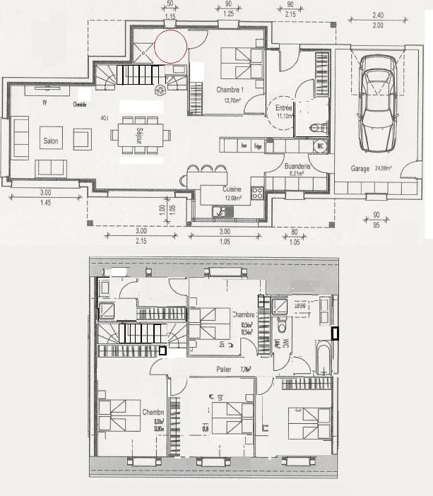 Plan maison complet maison de plainpied 1 maison - Faire ses plans de maison ...