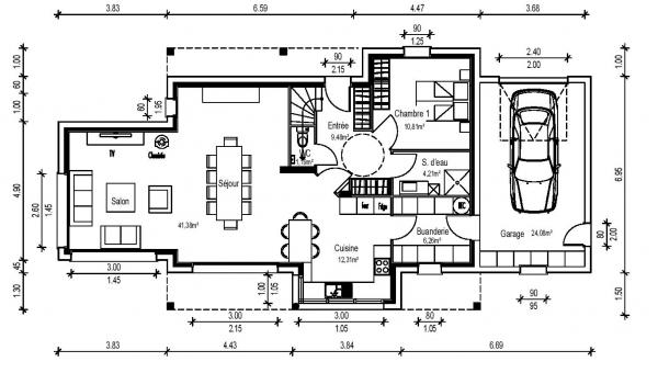 Besoin d 39 avis plans de maison 150m2 108 messages page 3 for Plan maison 150m2