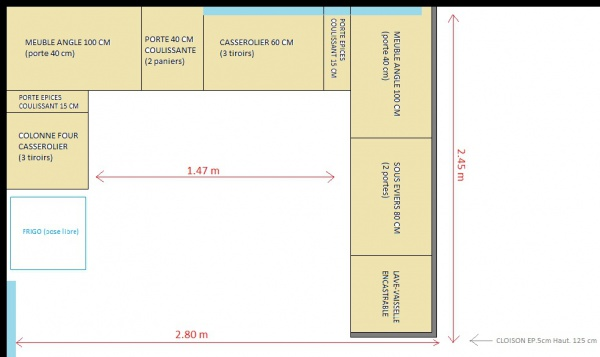 Besoin Avis Projet Cuisine (Plans 3D) - 4 Messages