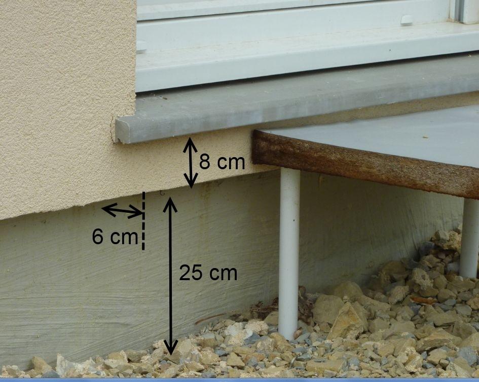 Besoin de conseil pour ma terrasse - Faire une terrasse en beton ...